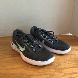 Nike Lunar Converge Dark Gray/Mint Shoes Size 9W